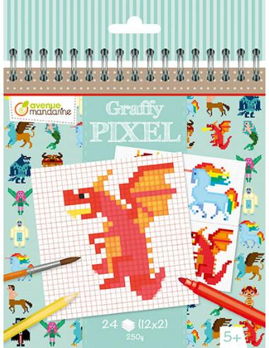 Coloriage pixel créatures...