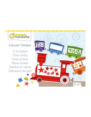 Educativ'stickers tri de couleurs -...