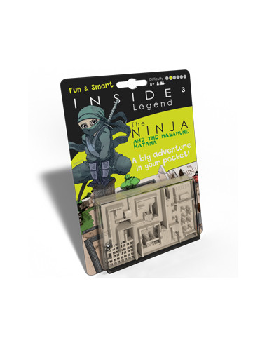 Inside 3 Legend – The ninja and the...