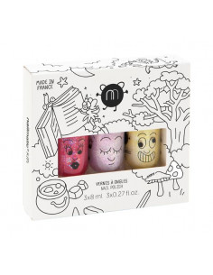 Coffret 3 vernis MAGIC FOREST