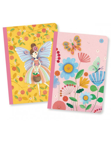 Petits carnets Rose - Lovely paper Djeco