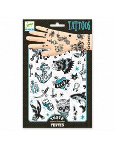 Tatouages Dark side - Djeco