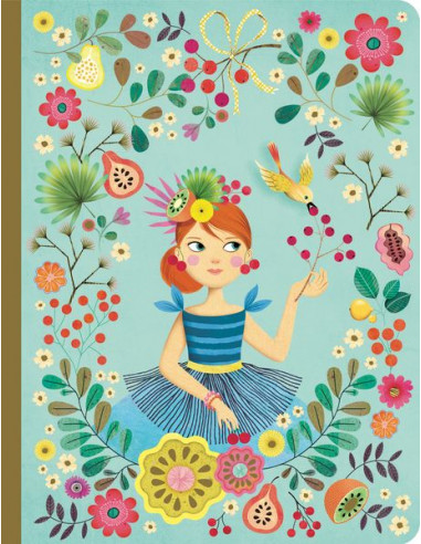 Cahier Rose - Lovely paper Djeco
