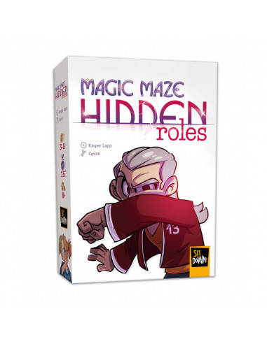 Hidden roles - extension jeu Magic maze