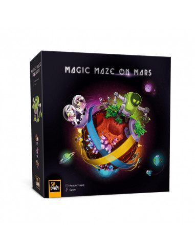 Jeu Magic maze on mars