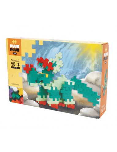Plus Plus Box Big basic dinosaure 50...