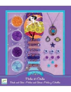Bijoux à créer perles et étoiles