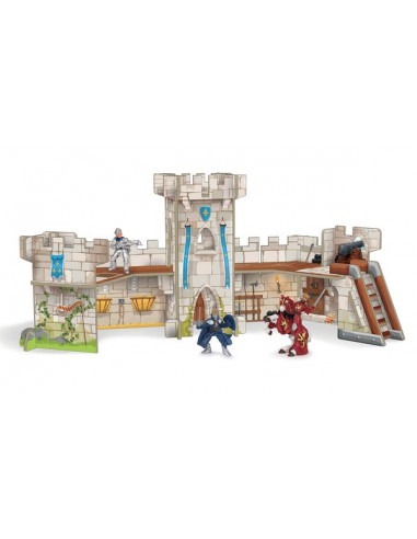 Mini château de chevalier - décor Papo