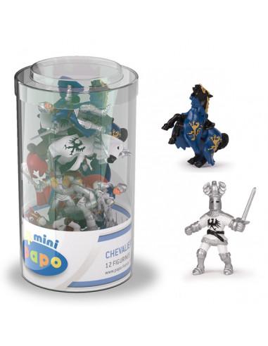 12 mini figurines chevaliers - Papo