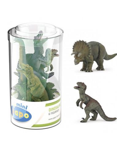 6 mini figurines dinosaures - Papo