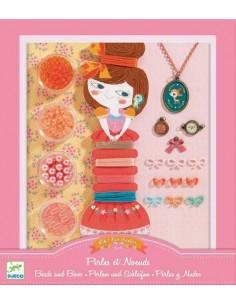 Bijoux à créer perles et noeuds