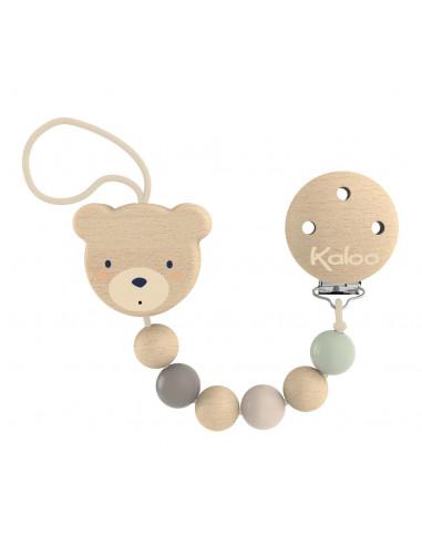 Attache tétine ours - Kaloo