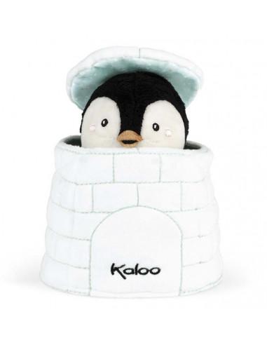 Gabin le pingouin marionnette cache...