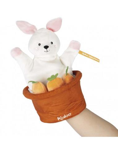 Robin le lapin marionnette cache...