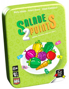 Salade 2 points - jeu gigamic