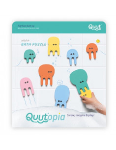 Puzzle de bain méduse - Quut