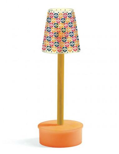 Lampe sur pied LED - maison de poupée...