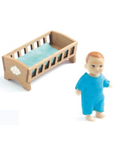 Bébé Sacha - maison de poupée Djeco