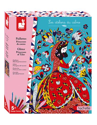 Paillettes Princesses de contes - Les...