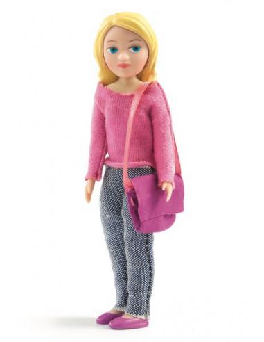 Figurine Sophie - maison de poupée Djeco