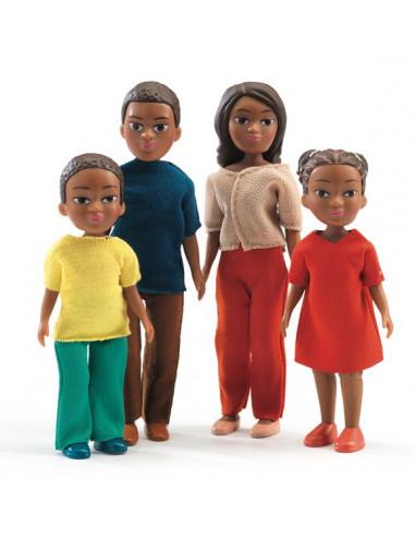 Figurines famille de Milo et Lila -...