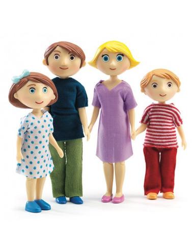 Figurines famille de Gaspard et Romy...