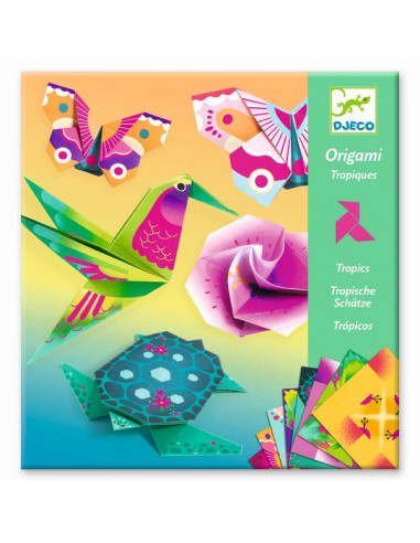 Origami tropiques - Djeco