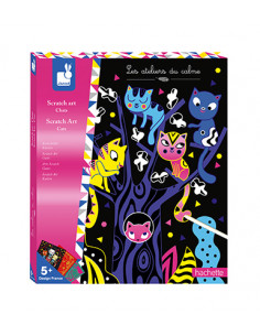 Scratch art Chats - Les...