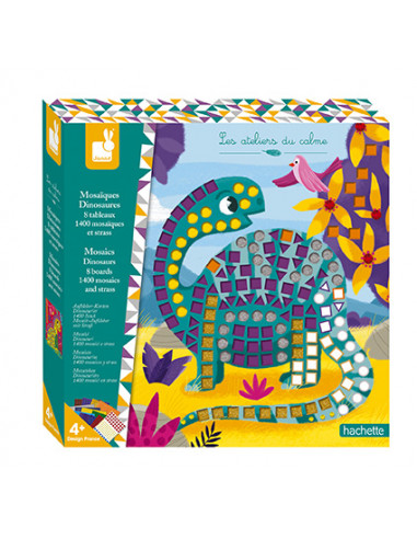 Mosaiques Dinosaures - Les ateliers...