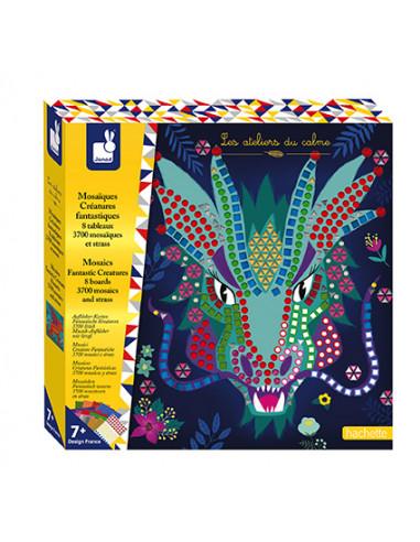 Mosaiques Créatures fantastiques -...