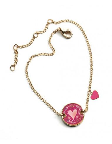 Lovely bracelet coeur - Djeco