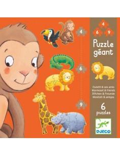 Puzzle géant Ouistiti & ses...