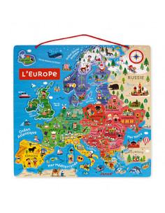 Puzzle carte d'Europe...