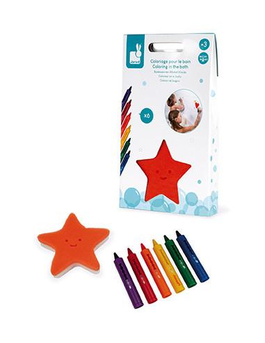 Crayons pour le bain - Janod