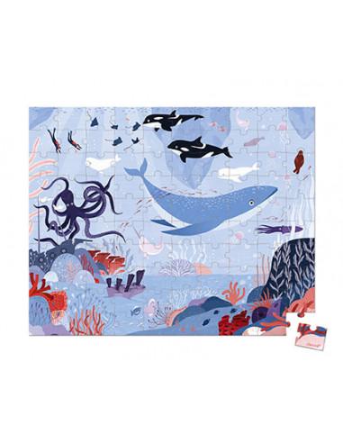 Puzzle océan arctique 100 pièces - Janod