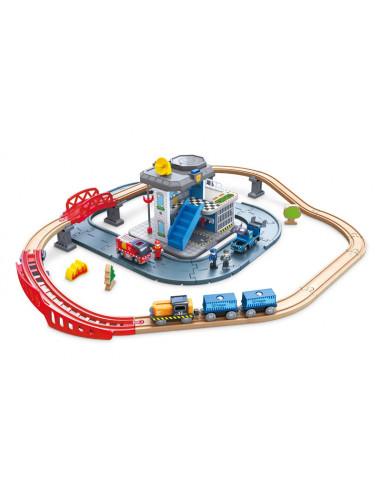 Circuit de train des secours - Hape