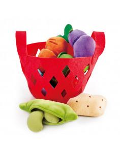 Panier de légumes en tissu...