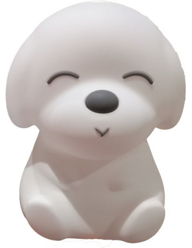 Grande veilleuse chien Big'dog Blanc