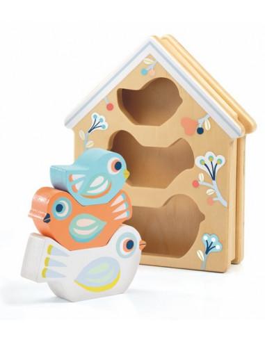 BabyBirdi boîte à forme - Djeco