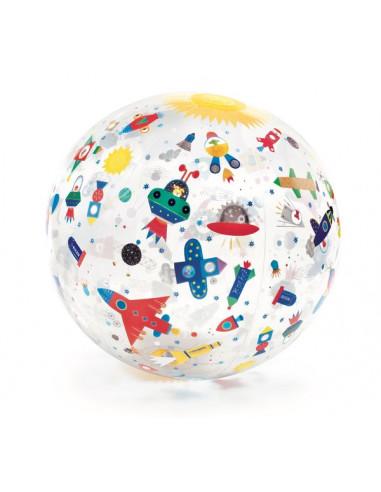 Ballon gonflable Space ball - Djeco
