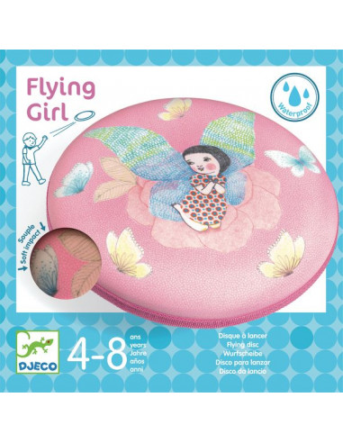 Disque à lancer Flying girl - Djeco