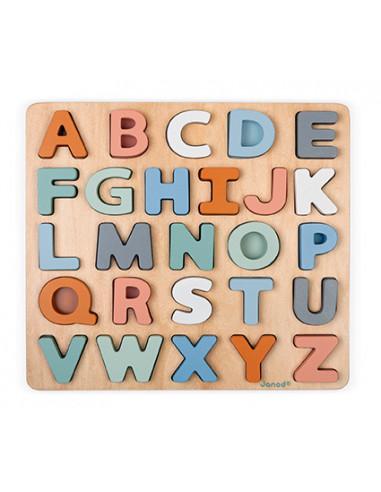 Puzzle alphabet Sweet Cocoon - Janod