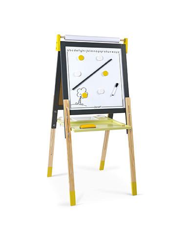 Tableau réglable gris et jaune - Janod