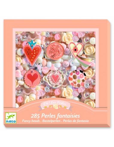 Perles fantaisies coeur - Djeco