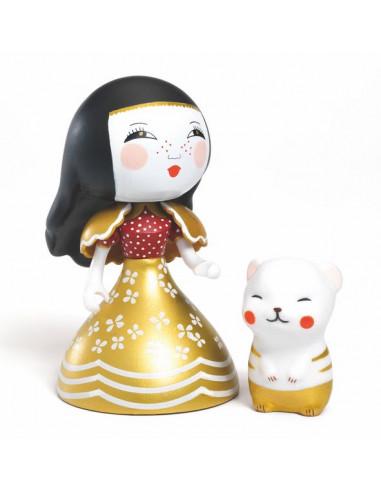 Figurines Mona & Moon princesse Arty...