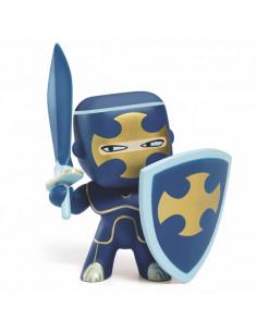 Dark blue figurine...