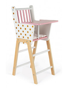 Chaise haute Candy Chic -...