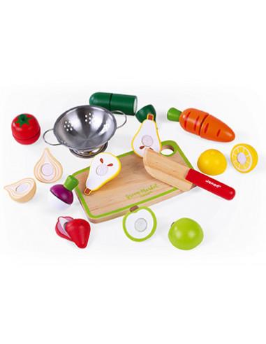 Maxi set fruits et légumes à découper...