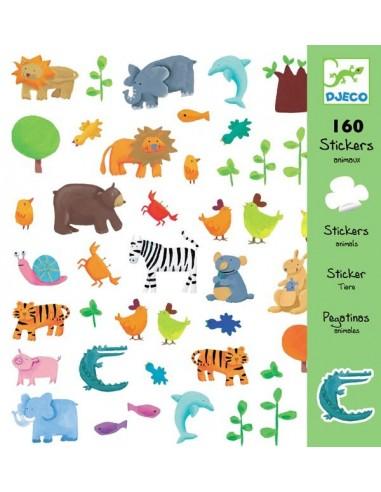 Stickers animaux - Djeco