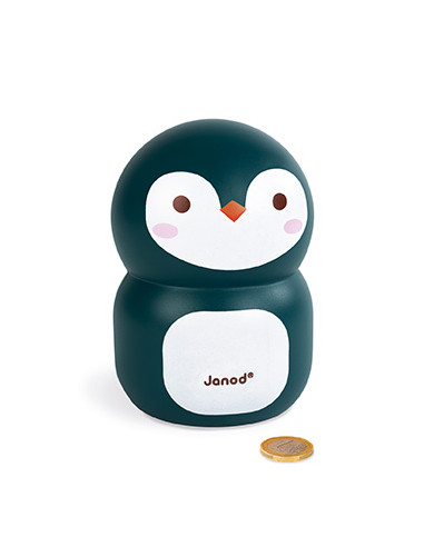 Tirelire Pingouin - Janod
